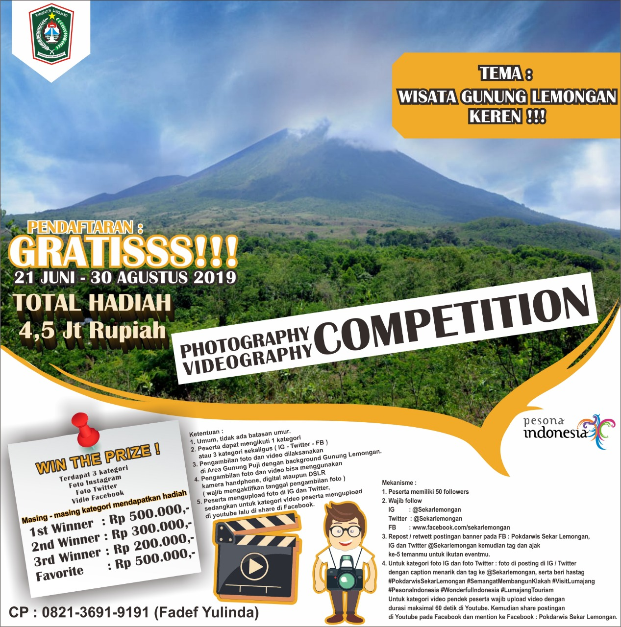 LOMBAH FOTHOGRAPY DAN VIDEOGRAPY COMPETITION