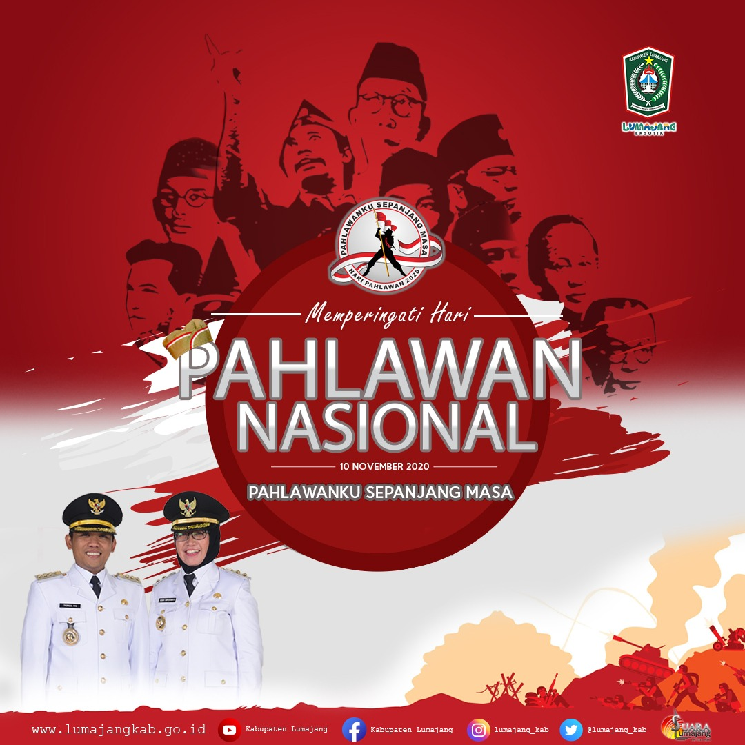 Selamat Hari Pahlawan Nasional 10 November 2020