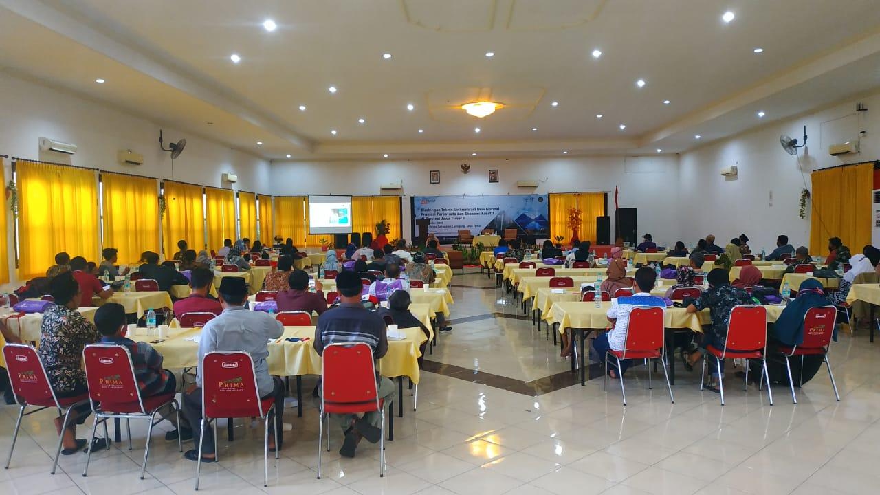 Bimbingan Teknis Sinkronisasi New Normal Promosi Pariwisata dan Ekonomi Kreatif Provinsi Jawa Timur