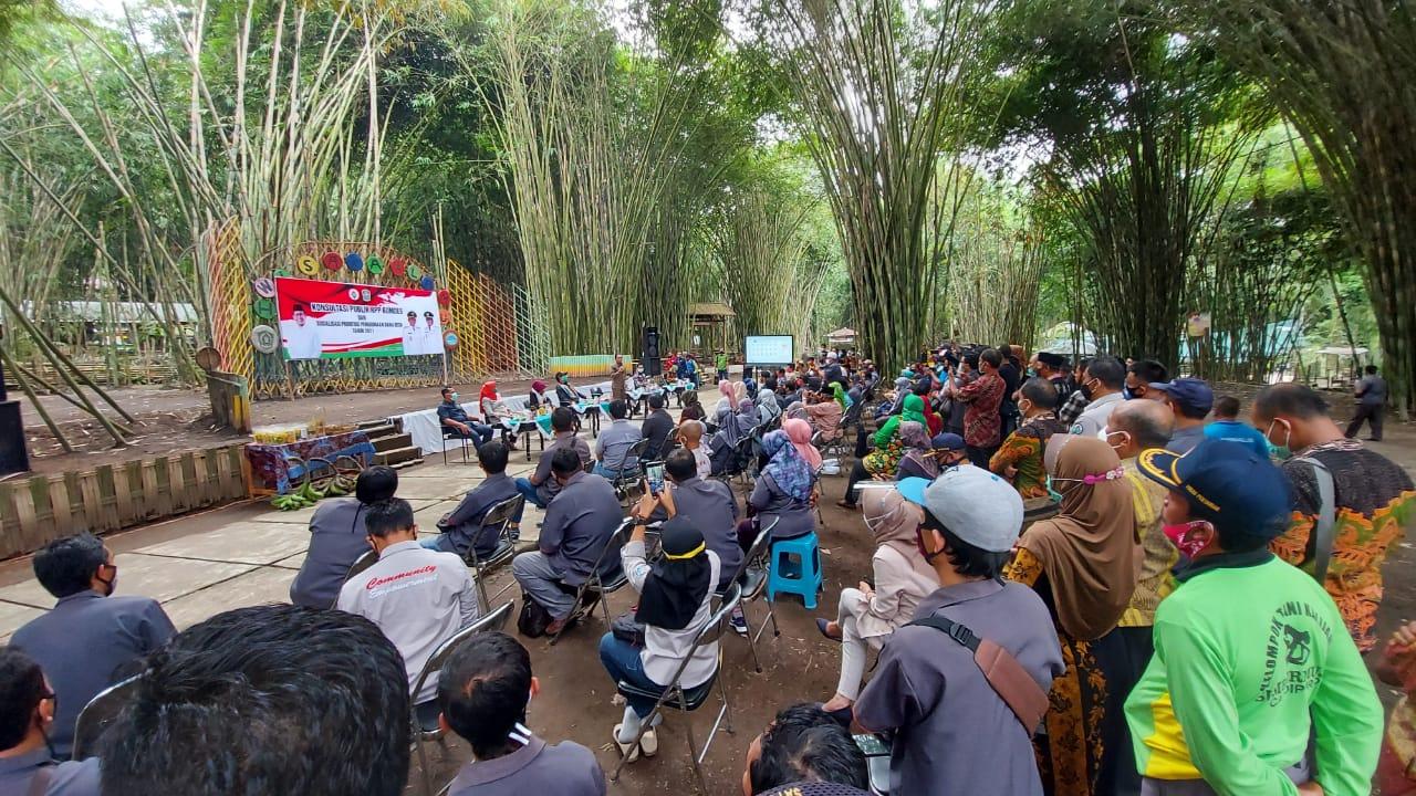 Hutan Bambu Umbulrejo, Sumber Mujur menjadi tempat sosialisasi dan kunjungan Menteri Desa, Pembangun